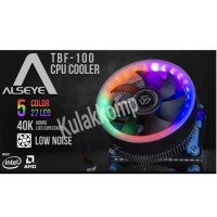 CPU COOLER GAMING ALSEYE TBF-100 COMBO (INTEL DAN AMD) FAN PROCESSOR