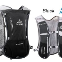 AONIJIE Hydration Backpack E913 Trail Marathon Running Hash - BLACK