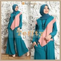 Busana Muslim Tefity Celana Kulot Fashion Muslim 3 Warna