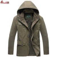 Jual murah UNCO&BOROR new warm Winter Jacket Parka For Men Detacha