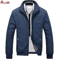 Jual murah UNCO&BOROR Men Jacket Hot Sale Spring Autumn Men's Soli