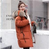 Jual murah 2018 new style winter jacket women Hooded cotton padded