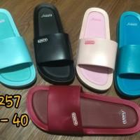 f2257 sendal sandal kokop karet luofu