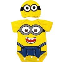 Baju Bayi Laki Laki Perempuan Jumper Bayi Lucu - Minion - Size 2