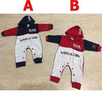 Baju Bayi Laki Jumper Jumpsuit Bayi Lucu Baby Who New