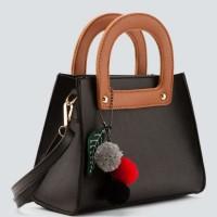 sling bag import free pompom