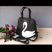 Tas Wanita Branded Kate Spade On Point Swan Small Maise Satchel Tas