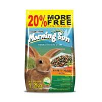 Makanan Kelinci MORNING SUN Rabbit food with carrot 1.2kg