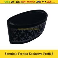 Kopiah Premium Profil S / Songkok Farnifa Exclusive Profil - Hitam, 5