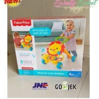 Mainan Edukasi Bayi Fisher Price Musical Lion Walker