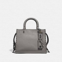 PO 24/11/18 - Coach Rogue 25 With Rivets Heather Grey
