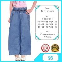 celana kulot anak celana jeans anak perempuan list motif