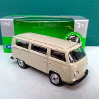 Diecast Volkswagen VW bus T2 1972 miniatur mobil Welly Nex harga murah