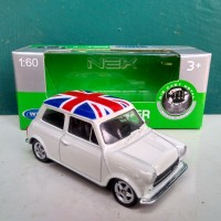 Diecast Mini Cooper 1300 miniatur mobil klasik Welly Indonesia murah