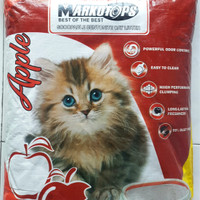 Pasir Kucing Wangi + Gumpal - Markotops 5,5 liter GOJEK READY!!!