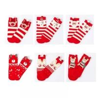 Kaos Kaki Bayi Import-Baby Shoes-Kaos Kaki Natal Anak-Red Christmas