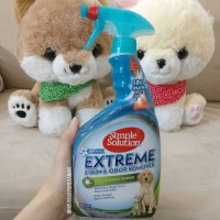 simple solution extreme stain odor remover penghilang bau anjing cat