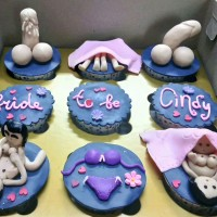 naughty cupcake bridal shower medan