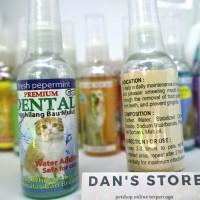 Dental cat - penghilang bau mulut kucing