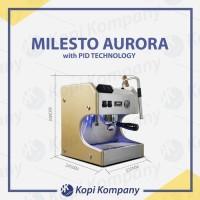 Milesto Aurora Coffee Machine Espresso Maker Mesin Kopi with PID Cafe