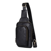 JM1728 - PREMIUM LEATHER MEN SLING BAG IMPORT - TAS SELEMPANG PRIA