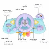 Mainan Setir Mobil Lampu musik Mainan Gantung Stroller Bayi Baby Crib