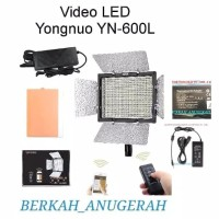 LED YONGNUO YN - 600L VIDEO LIGHTING + ADAPTOR