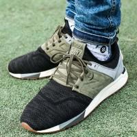 New Balance MRL 247 Luxe Black Olive Green Premium Original Sneakers