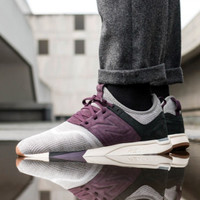 New Balance MRL 247 LM Luxe Knit Grey Purple Premium Original Sneakers