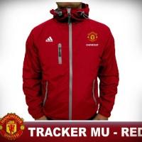 Jaket Pria Wanita Harian Motor Bola Outdoor Tracker Setan Merah