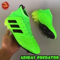Sepatu Bola Adidas Predator 18 FG Green - Grade Ori