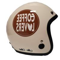 Helm Jetstar cream coffe furnish