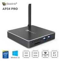 Beelink AP34 Pro 6/64GB MiniPC Windows 10 Intel Apollo Lake N3450 HDMI