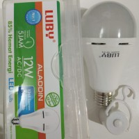 Lampu LED emergency LUBY Aladdin 12w 12 watt