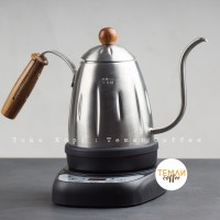 Diguo Digital Electric Gooseneck Kettle Silver