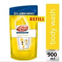 Sabun Mandi Lifebuoy Lemon Fresh 900 ml / Lifebuoy Kuning 900ml