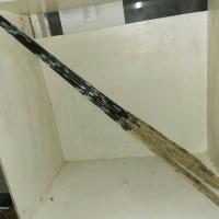 alat pancing joran walesan rotan / bambu panjang 125cm diameter 2cm