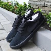 Sepatu Nike SB Portmore Suede Monoblack Original 100%