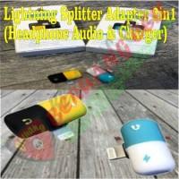 Lightning Splitter Adapter 2 In 1 Headphone & Charger - MALANG