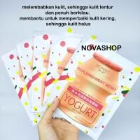 Rorec Yogurt Sheet Mask - Masker Tissue Untuk Kulit kering - dry skin