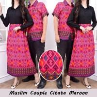 Baju Muslim Couple/Baju Couple Citata/Baju batik couple/Dress