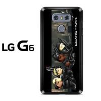 Casing LG G6 Gears Of War Cartoon Lego Hard Case Custom