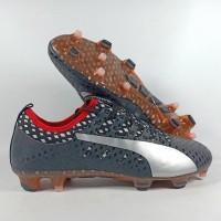 Sepatu Bola Puma Evopower VIgor 1 Black WHite Red FG Replika IMpor