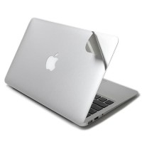 Sticker Macbook Full Body Decal Palm Guard Silver Skin Protector NEW