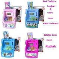 Mainan Anak Celengan Atm Mini Happy Bank Mainan Edukasi Anak Maianan