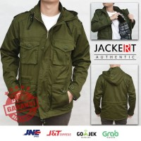 Jaket Parka Army - Military Green