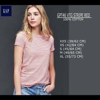 GAP Striped Top Kaos Wanita Promo Murah