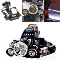 headlamp headlight senter kepala cree XM-L T6 5000 lumens