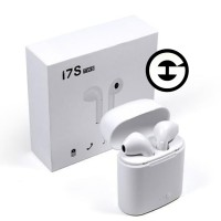 HEADSET AIRPODS HANDSFREE BLUETOOTH EARPHONE WIRELESS HBQ i7S