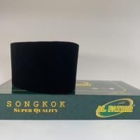 Peci Songkok Kopiah Tinggi 11 AL FATHIR AC Hitam Polos GROSIR